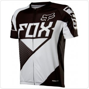 Вело джерси FOX LIVEWIRE RACE Jersey черно-белая