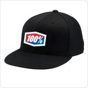 "Кепка Ride 100% ""ICON"" 210 Fitted Hat Black"