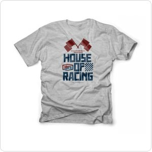 "Футболка Ride 100% TEE-SHIRT ""HOUSE"" HEATHER GREY"