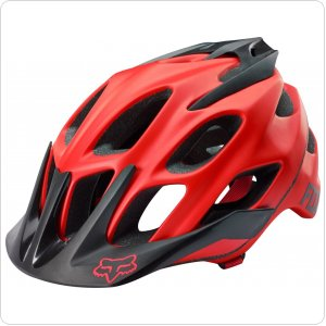 Вело шлем FOX Flux Helmet [RED]