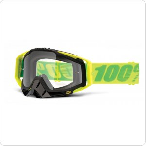 Мото очки 100% RACECRAFT Goggle Sour Patch - Clear Lens