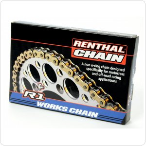 Цепь мото Renthal R1 - MX Works Chain 520-120L