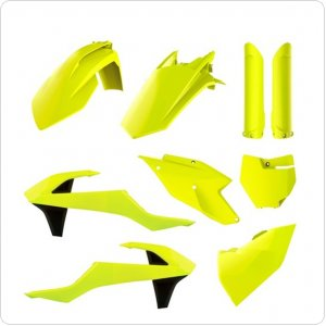 Пластик Polisport MX Complete Kit for Kawasaki KX [Flo Yellow]