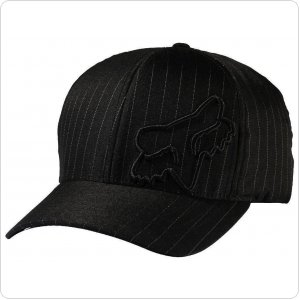 Кепка FOX Flex 45 FLEXFIT HAT [Black Pinstripe]