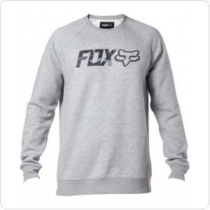 Кофта FOX LEGACY CREW FLEECE [HTR GRY]