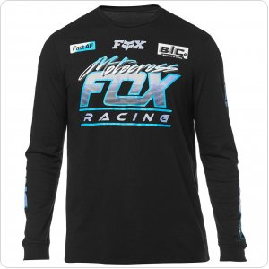 Футболка FOX JETSKEE LS KNIT [BLK]