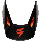 Козырек для мото шлема SHIFT WHIT3 HELMET VISOR [MT BLK]