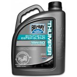 Масло моторное Bel Ray THUMPER RACING SYNTHETIC ESTER 4T [4л]