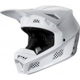 Мотошлем FOX V3 SOLIDS HELMET [White/Silver]