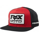 Кепка FOX CHARGER SNAPBACK HAT [BLACK RED]