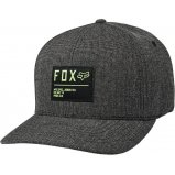 Кепка FOX NON STOP FLEXFIT HAT [BLACK GREEN]