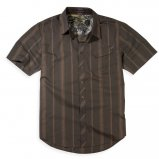 Рубаха FOX Monument s/s Woven Dark Brown