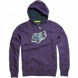 Толстовка FOX Ando Zip Front Fleece PURPLE