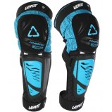 Наколенники Knee & Shin Guard LEATT 3DF Hybrid EXT [Fuel/Black]