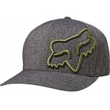 Кепка FOX CLOUDED FLEXFIT HAT [Heather Black]