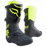 Мотоботы FOX COMP BOOT [BLACK/YELLOW]