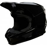 Мотошлем FOX V1 PLAIC HELMET [BLACK]