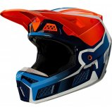 Мотошлем FOX V3 RS WIRED HELMET [Flo Orange]