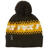 Шапка FOX OVERKILL BEANIE [Black Yellow]