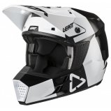 Мотошлем LEATT Helmet GPX 3.5 V21.3 [Black White]