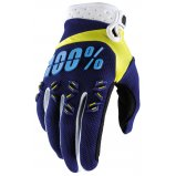 Мото перчатки Ride 100% AIRMATIC Glove [Navy/Yellow]