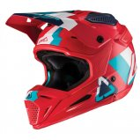 Мотошлем LEATT Helmet GPX 5.5 V19.2 [Red/Teal]