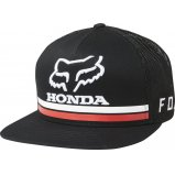 Кепка FOX HONDA SNAPBACK HAT [BLACK]